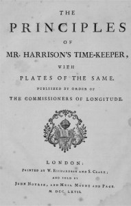 Harrison's Time-Keeper