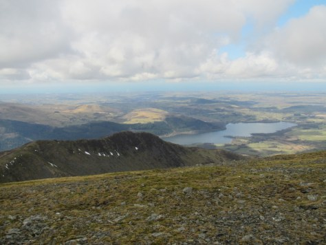 Longside Edge and Bassenthwaite Lake from Skiddaw