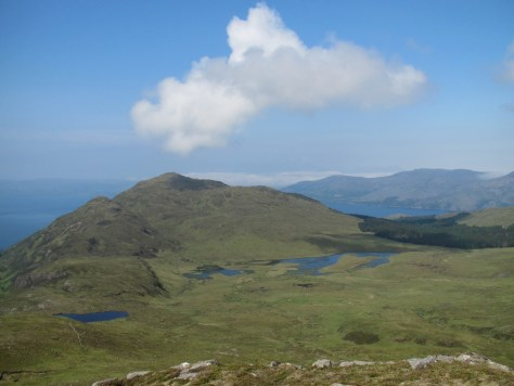 Beinn Mhialairigh from Beinn Sgritheall