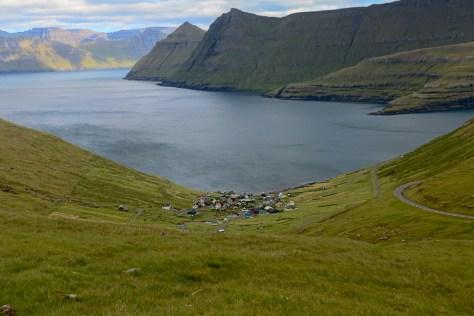 Village of Funningur and the Funningsfjørður