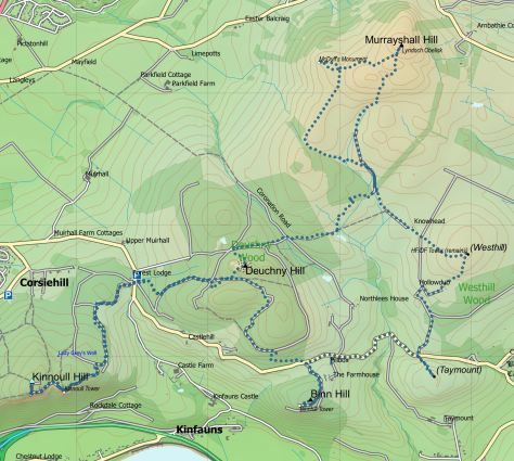 Kinnoull-Murrayshall route