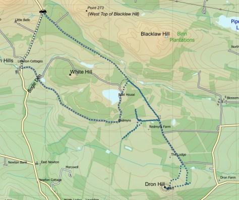 Dron route