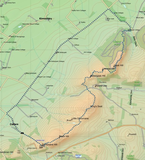 Dunsinane-Gask route