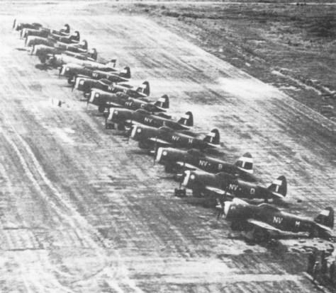 79 Sq RAF, Meiktila, July 1945