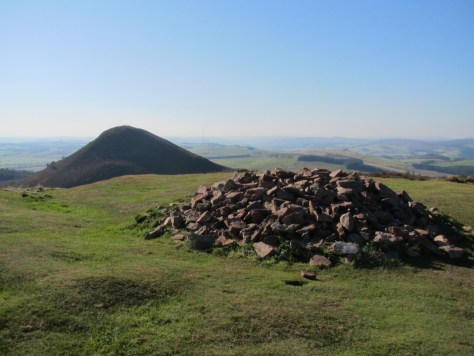 Eildon Mid Hill from Eildon Hill North