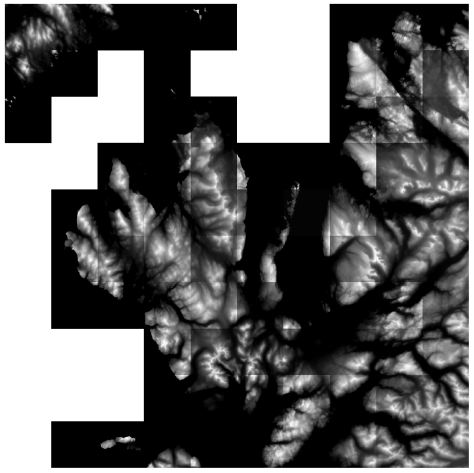 OS OpenData Terrain 50 NG raster tiles