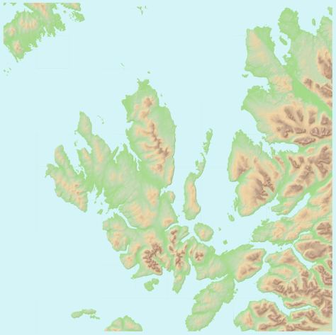 OS OpenData Terrain 50 NG topo + hillshade + water