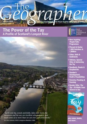 Cover of The Geographer, Autumn 2018
