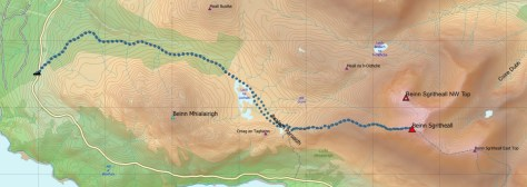 Sgritheall route