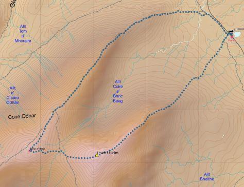 Leum Uilleim route