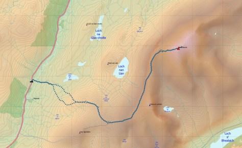 Klibreck route