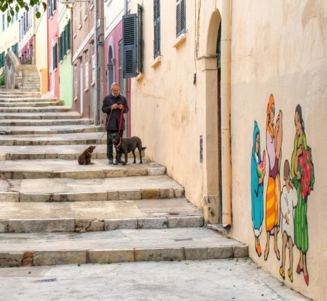 Gibraltar back street