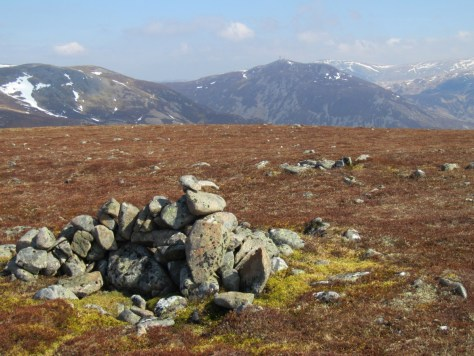 Summit of Carn Mor