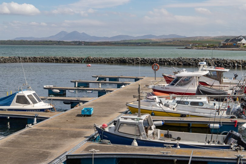 Paps of Jura from Bowmore, Islay