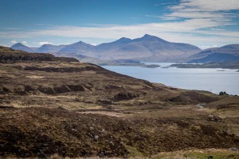 Ben More across Loch Tuath, Mull