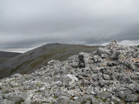 Creag Leacach from SW Top