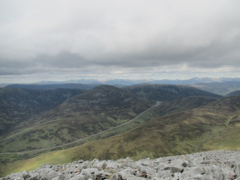 Cairnwell from Creag Leacach