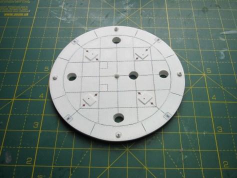 NewWare S-IC heatshield, custom decals
