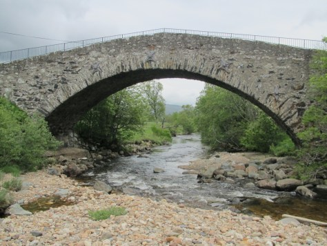 Caulfeild bridge, Spittal of Glenshee
