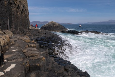 Route to Fingal's Cave, Staffa