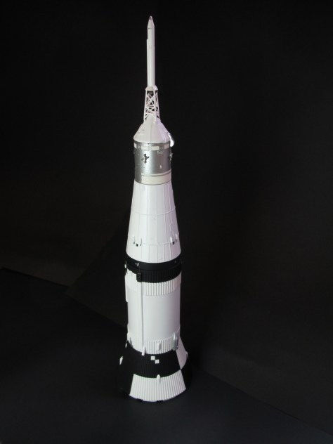 Revell 1/96 Saturn V with RealSpace & New Ware details (upper part)
