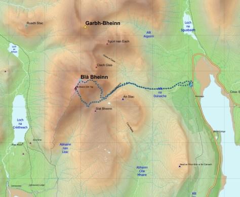 Blaven final map