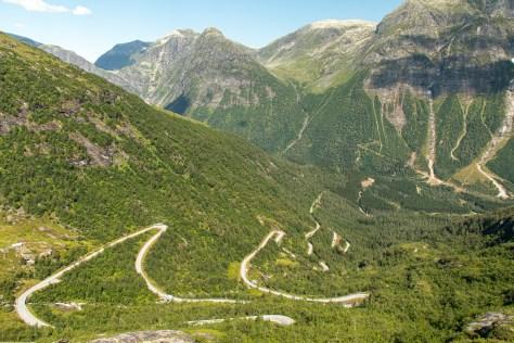 Gaularfjellet road