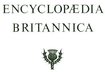 Encyclopaedia Britannica title page