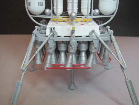 Pegasus 1/350 Von Braun Moon Lander model 11