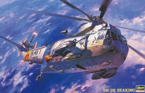 Hasegawa 1/48 SH-3H Sea King box art