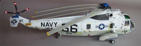 Hasegawa 1/48 SH-3H Sea King rotor test starboard