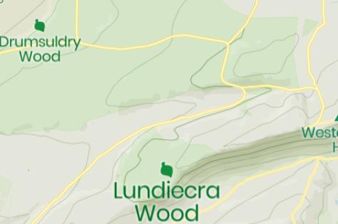 Mapcarta Lundiecra Wood