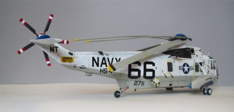 1/48 Sea King SH-3D, BuNo 152711, Apollo Recovery (7)