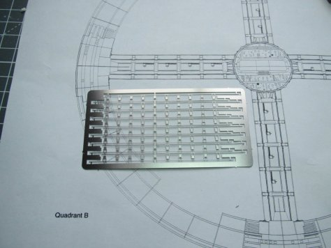Fantastic Plastic Space Station V spoke detail fret