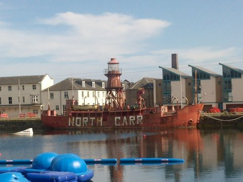 North Carr Lightship, Dundee
