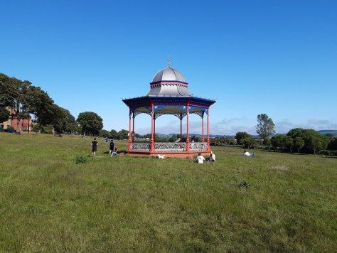 Magdalen Green bandstand, Dundee
