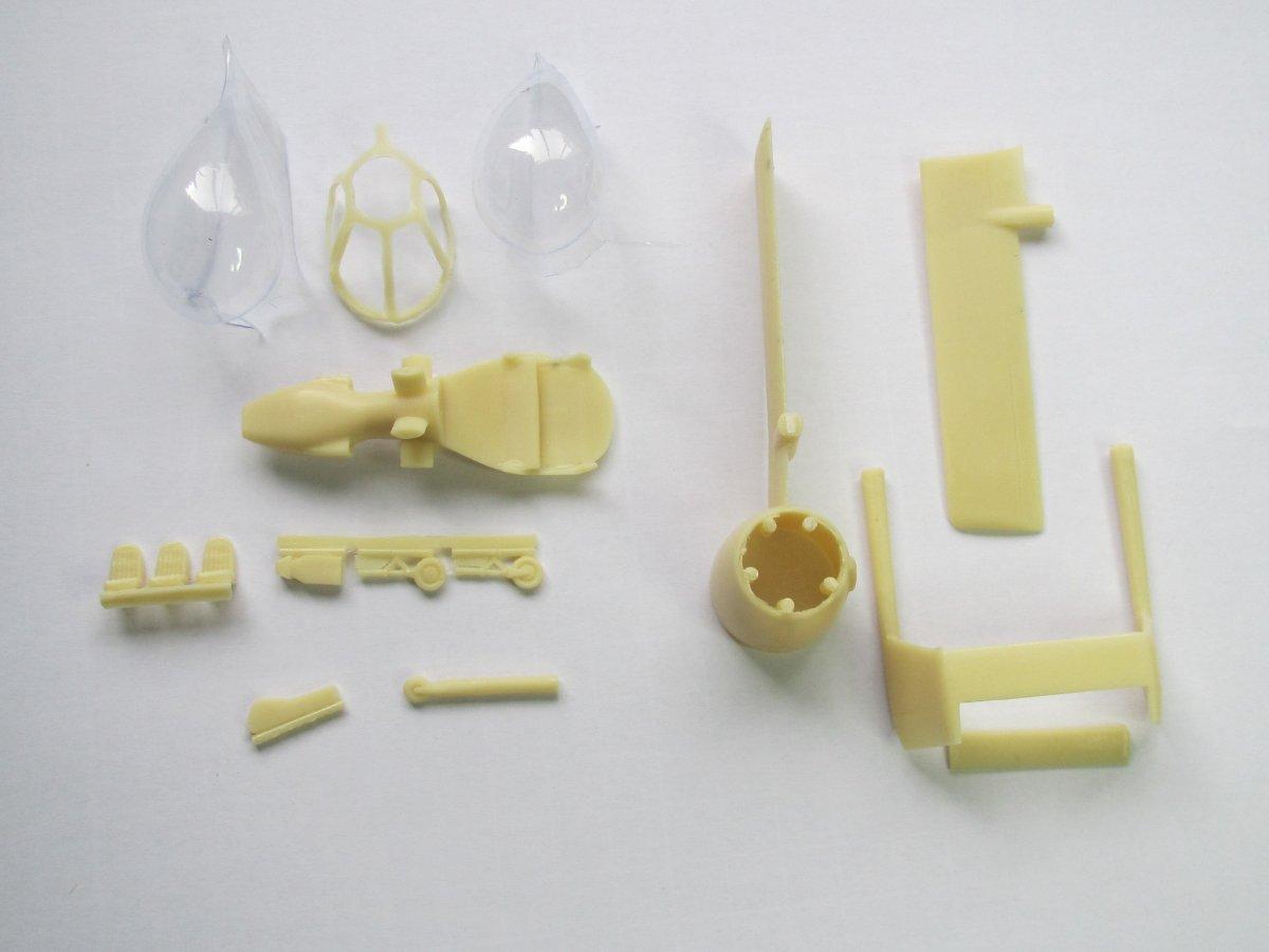 1:72 scale plastic decal photo-etched kit AVIS AV72026 Edgley EA-7 Optica