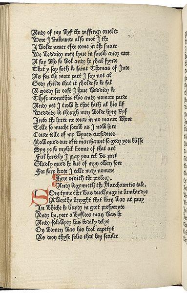 Caxton's Canterbury Tales