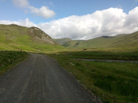Tulchan Lodge track, Glen Isla