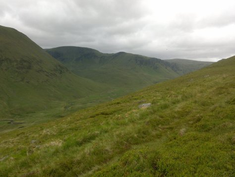 Head of Glen Isla from Spying Hillock