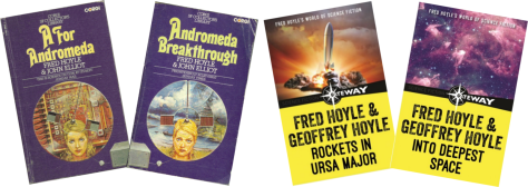 Coauthored books by Fred Hoyle