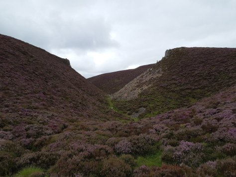 Slack of Dye, between Mount Shade and Clachnaben