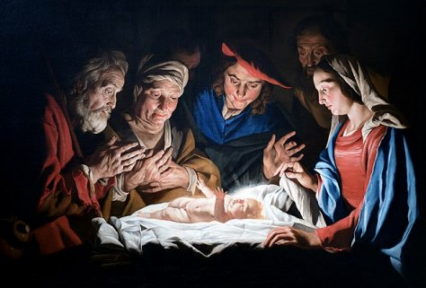 The Adoration Of The Shepherds, by Matthias Stom
