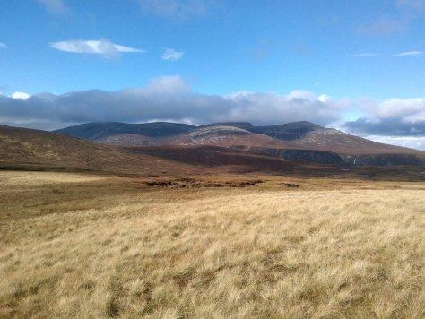 Lochnagar from Broom Hill, Glen Clova