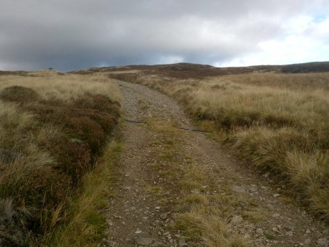 Capel Mounth track at Gallows Hillock