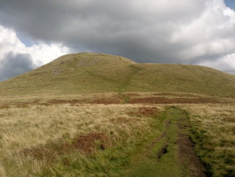 East Lomond from the west