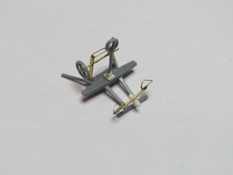 Eduard 1/48 Lysander, cockpit parts assembly 2