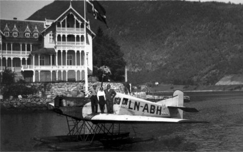 Junkers F13 LN-ABH, Balestrand, Norway