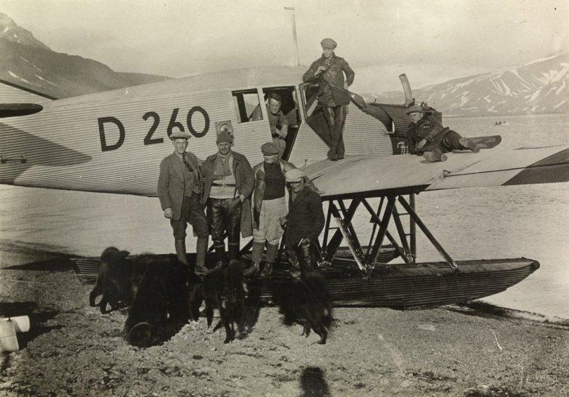 Junkers F13 D260, Svalbard