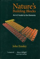 """Cover of """"Nature's Building Blocks"""" by John Emsley"""